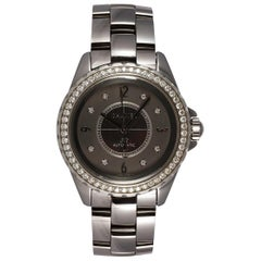 Chanel J12 Chromatic Ceramic Automatic Watch Factory Diamonds H2566