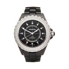 Chanel J12 Diamond Ceramic H2014 Wristwatch