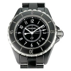 Chanel J12 H0682, Black Dial, Certified and Warranty