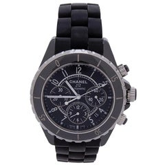 Chanel J12 H1007, Black Dial, Certified and Warranty