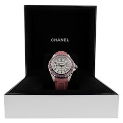 Chanel J12 H1337, White Dial, Certified and Warranty