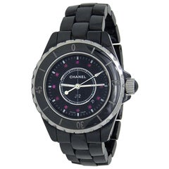 Chanel J12 H1634, Black Dial, Certified and Warranty