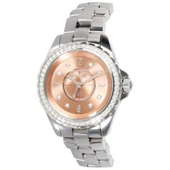 Chanel J12 H2563, Salmon Dial, Certified and Warranty