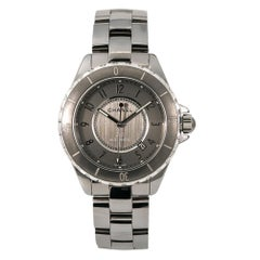 Chanel J12 H2979, Grey Dial, Certified and Warranty