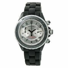Chanel J12 Superleggera Men's Automatic Watch Silver Dial Chronograph
