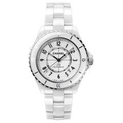 Chanel J12 White Dial Ladies Watch H5700