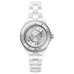 Chanel J12·20 Quartz Diamond White Dial Ladies Watch H6477