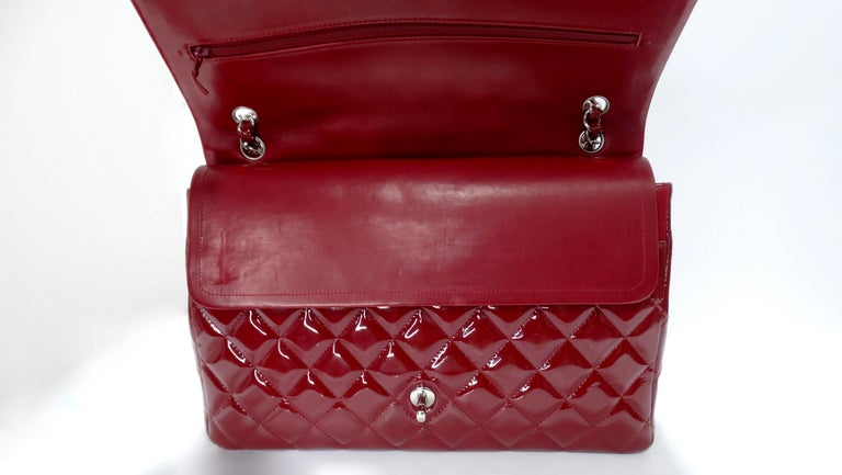Chanel Jumbo Patent Double Flap For Sale 1