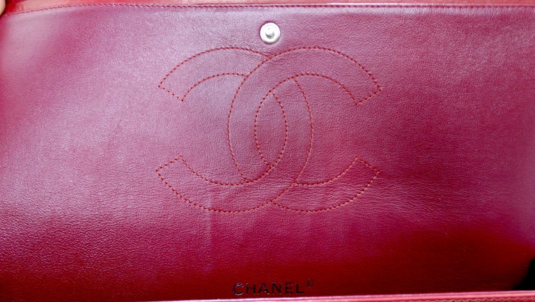 Chanel Jumbo Patent Double Flap For Sale 4