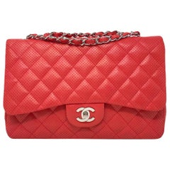 CHANEL Jumbo Red Timeless Limited Edition 2010