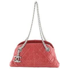 Chanel Just Mademoiselle Bag Lizard Min