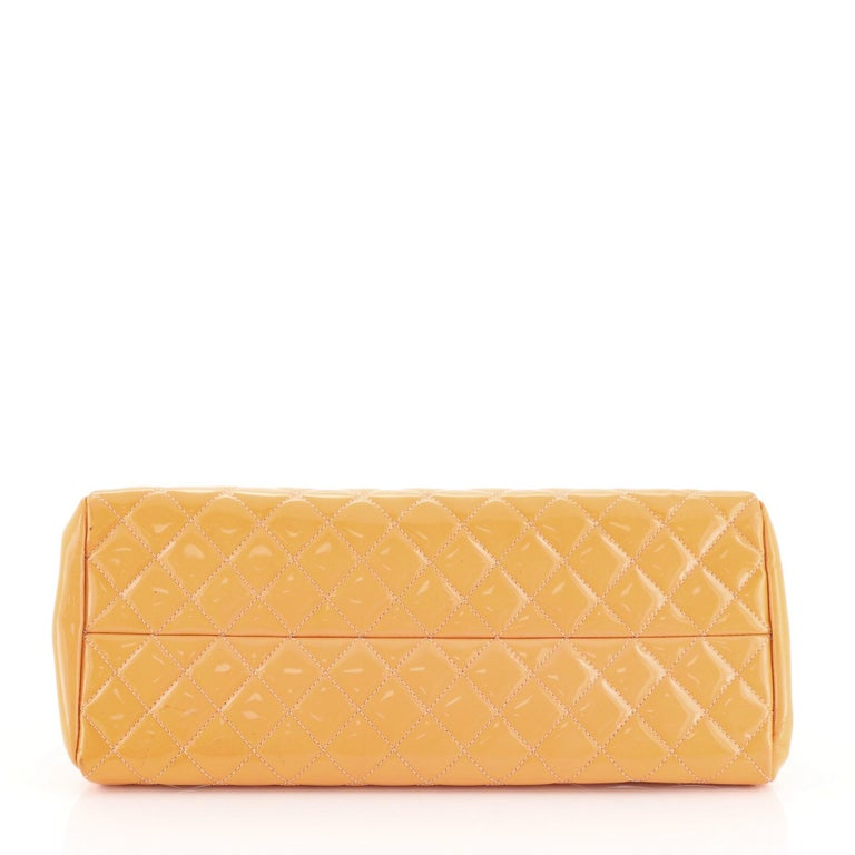Women's Chanel Just Mademoiselle Bag Quilted Patent Medium For Sale