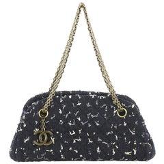 Chanel Just Mademoiselle Bag Tweed Small