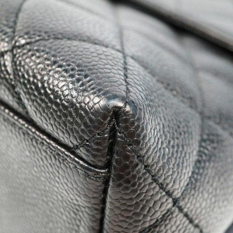 CHANEL Kelly type matelasse Womens handbag black x gold hardware For Sale 1