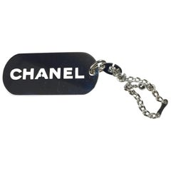 Chanel Keyring Silver Plated