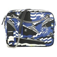 Chanel La Pausa Bay Camera Case Bag Printed Canvas Small