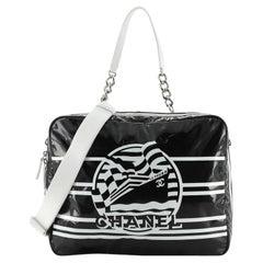 Chanel La Pausa Bay Camera Case Bag Printed Vinyl Large