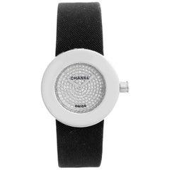 Chanel La Ronde 18 Karat White Gold Diamond Watch