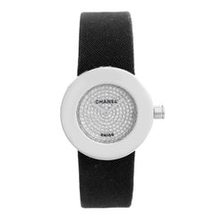Chanel La Ronde 18 Karat White Gold Diamond Watch