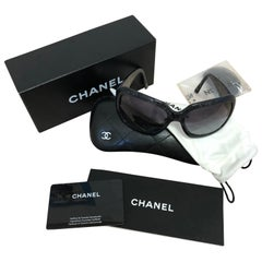 Chanel Lace Effect New Sunglasses with Full Kit