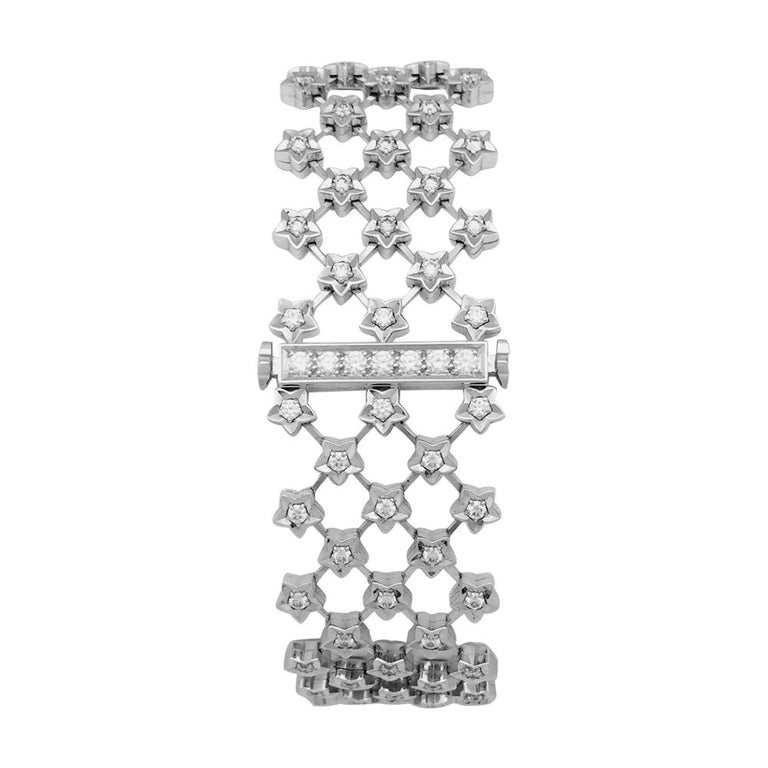 Chanel Ladies White Gold Diamond Stardust Quartz Wristwatch For Sale 1