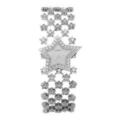 Chanel Ladies White Gold Diamond Stardust Quartz Wristwatch