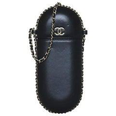 Chanel Lambskin Chain Around Phone Holder Bag