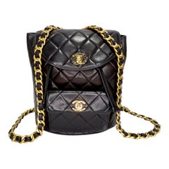 Chanel Lambskin Duma Backpack