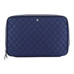 Chanel Laptop Sleeve Quilted Nylon