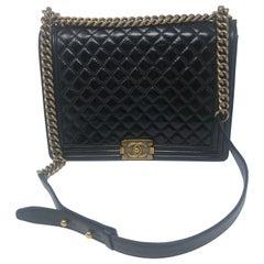 Chanel Large Black Boy Bag