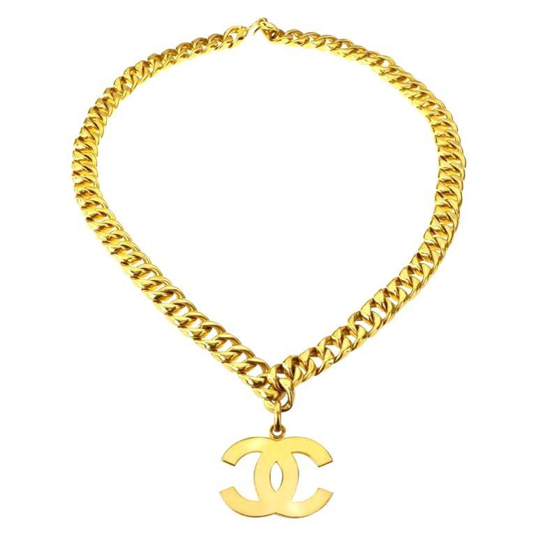 Chanel Large CC Necklace / Belt For Sale