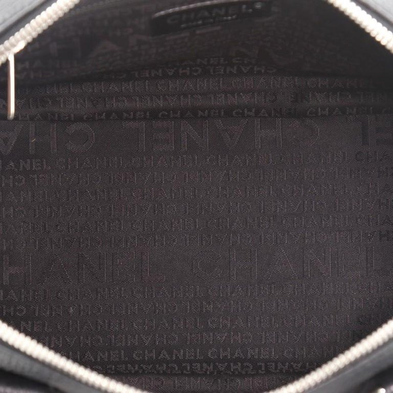 Women's or Men's Chanel Lax Tassel Bag Pebbled Leather Medium