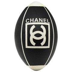Chanel Leather Rugby Ball
