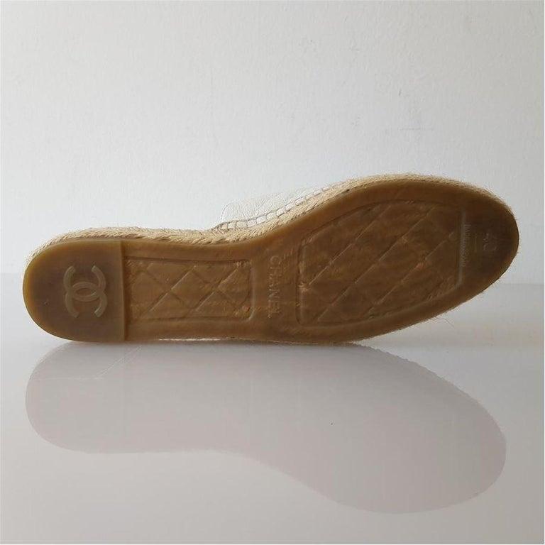 Women's Chanel Leather Slipper 40