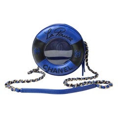 Chanel Lifesaver Round Crossbody Bag