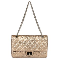 Chanel Light Bronze Reissue Jumbo Flap Bag