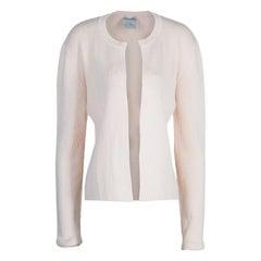 Chanel Light Pink Cardigan M