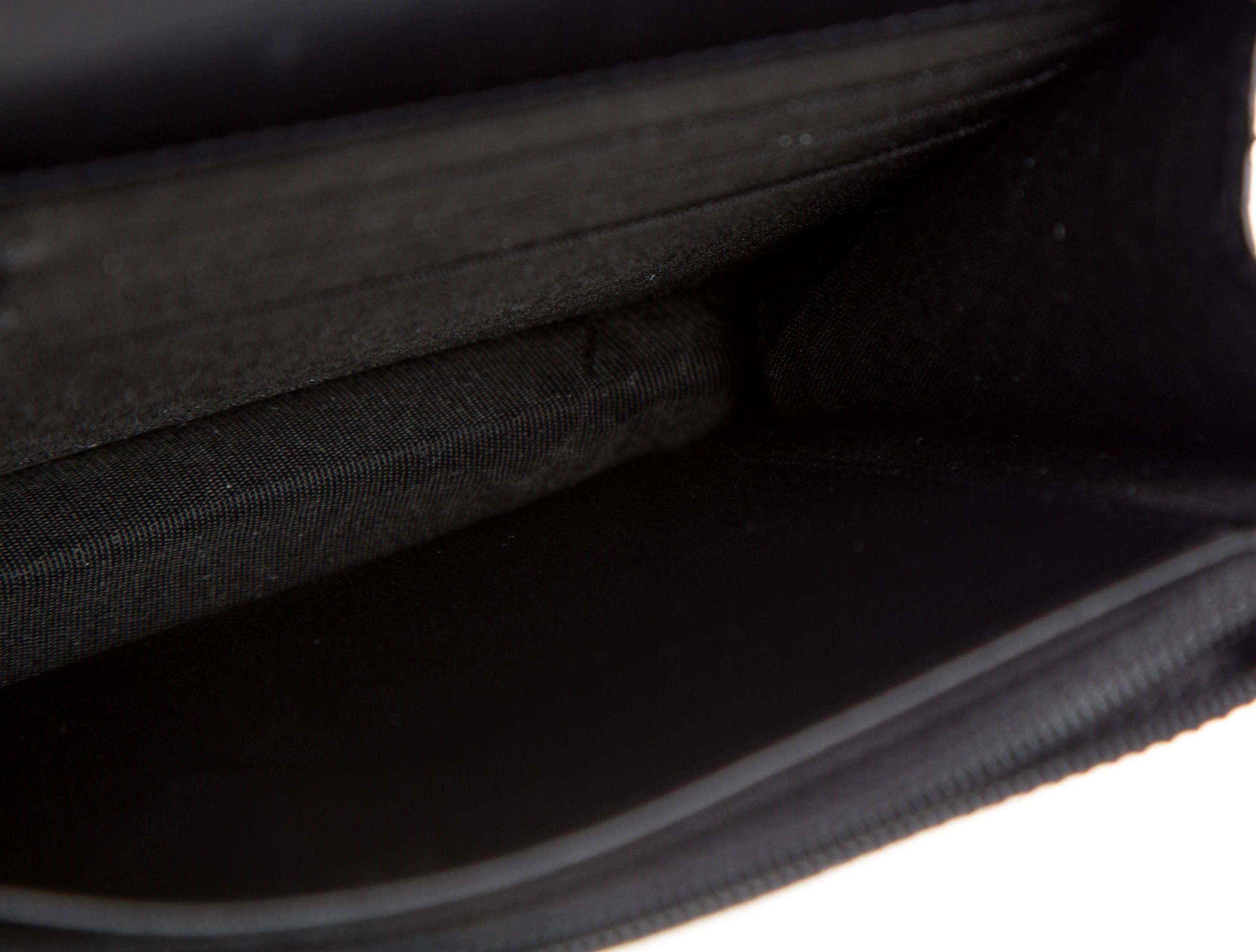 ea368c288ba Chanel Like New Black Gold Python Exotic Leather WOC Shoulder Flap Bag For  Sale at 1stdibs