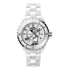 CHANEL By Karl Lagerfeld Limited Edition 555  Mademoiselle J12 Coco Watch  Mint