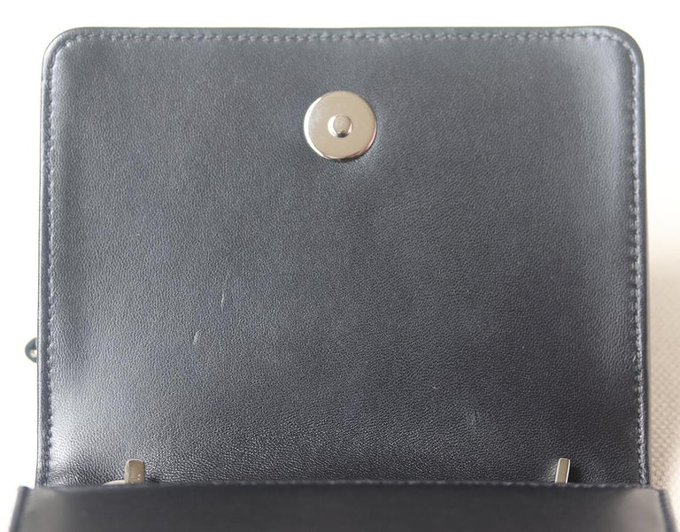 Chanel Limited Edition Boy Brick Crystal and Plexi Crossbody Bag For Sale 2