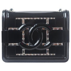 Chanel Limited Edition Boy Brick Crystal and Plexi Crossbody Bag