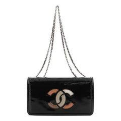 Chanel Lipstick Flap Bag Patent Vinyl Small