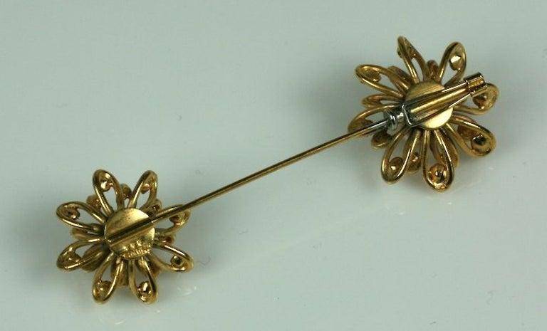 Romantic Chanel Looped Flower Jabot Brooch: Workshop  Maison Goossens For Sale