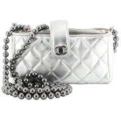 Chanel Love Symbols Crossbody Bag Quilted Lambskin Mini