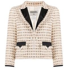 Chanel Lurex Tweed Boucle Jacket