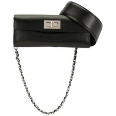 Chanel Mademoiselle 2.55 Reissue Waist Bag Rare Leather Flap Bum Fanny Pack Belt