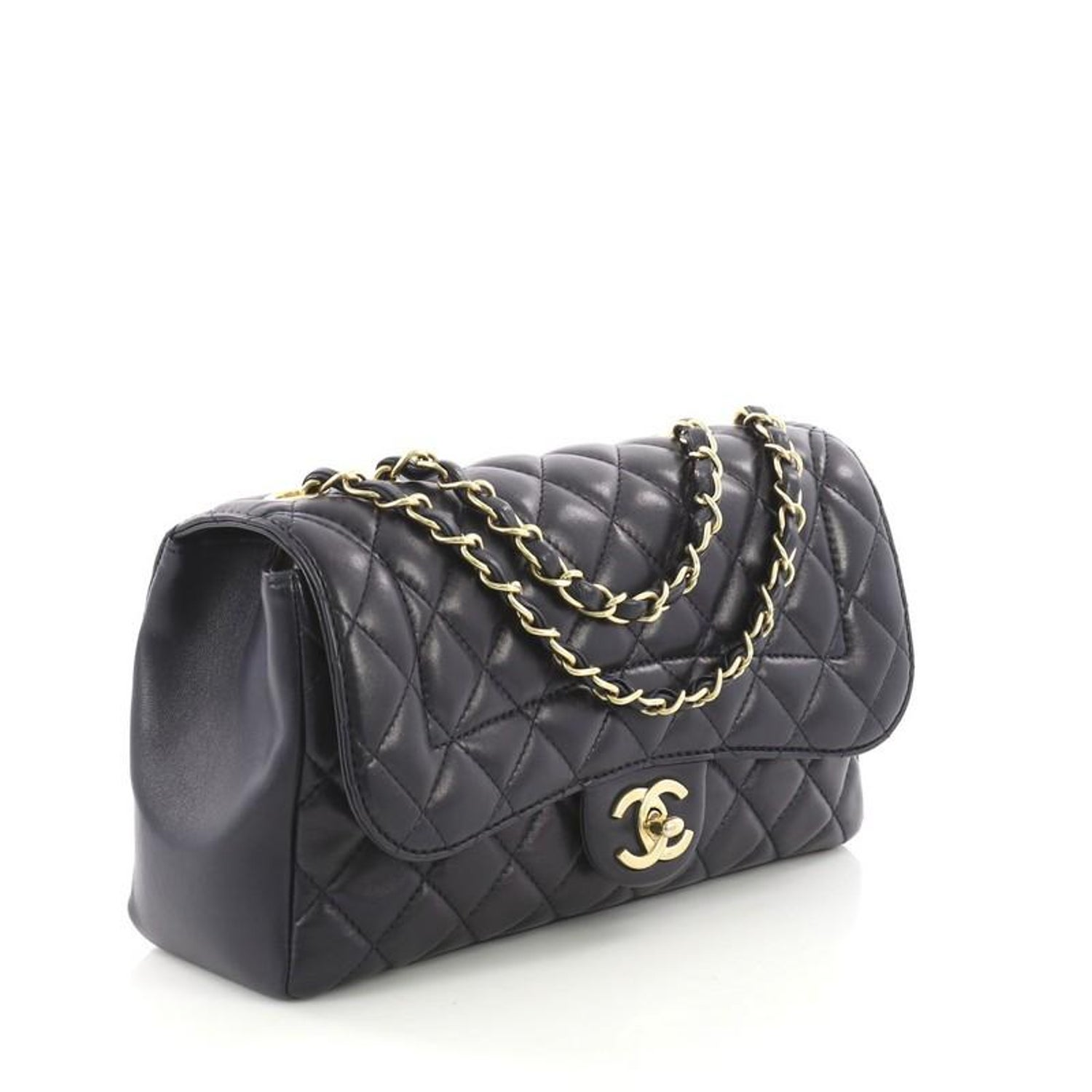 a10ddd6e1ad71e Chanel Mademoiselle Chic Flap Bag Quilted Lambskin Medium at 1stdibs