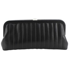 Chanel Mademoiselle Clutch Vertical Quilted Lambskin