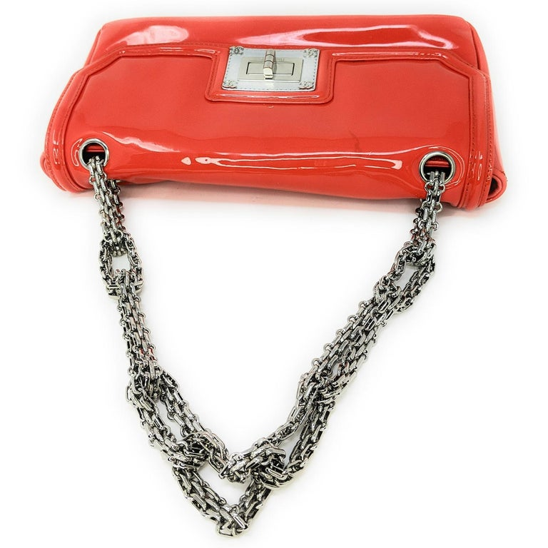Chanel Mademoiselle Lock Linked Bijoux Chain Flap For Sale 1