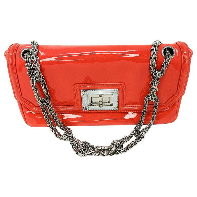 Chanel Mademoiselle Lock Linked Bijoux Chain Flap For Sale